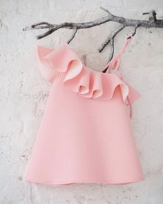 Airfish Leon Party Two way Dress in Peach