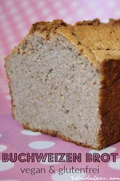 Super schnelles Buchweizen - Brot (vegan und glutenfrei) Vegan Cake vegan cake in dc Gluten Free Recipes, Low Carb Recipes, Bread Recipes, Vegan Recipes, Gluten Free Bagels, Paleo Breakfast, Breakfast Recipes, Free Breakfast, Buckwheat Bread