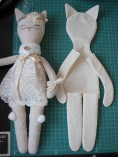 Wip tryingsomethingnew 🐾 i started this about a week ago i am a cat person i have 3 and i was curious to see how my doll pattern would… Pdf sewing pattern for blank cat doll for crafting 37 cm 14 5 inches diy tutorial ready to print for cloth doll Me Doll Crafts, Sewing Crafts, Sewing Projects, Cat Crafts, Sewing Patterns For Kids, Sewing For Kids, Sewing Ideas, Rag Doll Patterns, Pattern Sewing