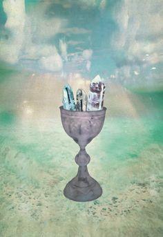 Ace of Cups  The Starchild Tarot  © Danielle Noel