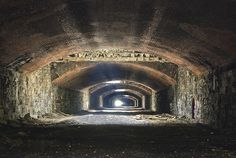 Abandoned Pennsylvania Ave Tunnel 2012. by porc3laind0ll, via Flickr