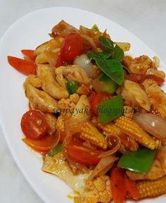 My Kuali: Ayam paprik