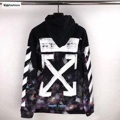 bd265e7710a3 Best Cheap Rep Off White Galaxy Brushed Hoodie For Sale — RepFashions