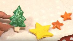 This super easy Salt Dough recipe can be used, by you and your kids, anytime of the year, to make any number of cute decorations!  https://www.youtube.com/watch?v=XRB62qSzJ-w