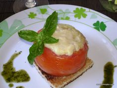 tomates rellenos calientes! :) #food #healty