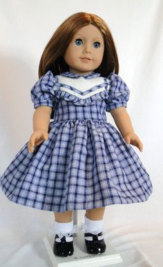 Farewall Molly and Emily school day dress by dancingwithneedles