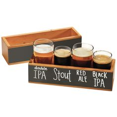 Vintage Write-On Tasting Crate. Host a beer tasting party at your house! Beer Sampler, Bar Deco, Brewery Design, Brewery Decor, Beer Tasting Parties, Brew Pub, Home Brewing, Craft Beer, Crates