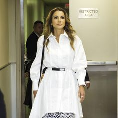 The modern monarch and fashion fanatic, Queen Rania of Jordan, proves that royal dressing needn't be stuffy.