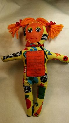 Dammit Doll by BBsQuiltsnMore on Etsy. I'm looking for a stressed out teacher I can help...