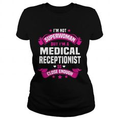 I Love Medical Receptionist Shirts & Tees