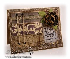 african themed wedding card by passioknitgirl cards and paper crafts at splitcoaststampers