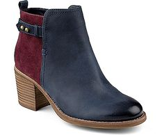 Sperry Top-Sider Ambrose Bootie in 6.5 or 7, any/all of the colors, especially the navy/wine