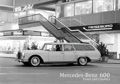 Mercedes 600 shooting break