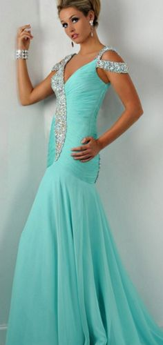 #mint #chiffon  #prom #party #evening #dress #dresses #gowns #cocktaildress #EveningDresses #promdresses #sweetheartdress #partydresses #QuinceaneraDresses #celebritydresses #2016PartyDresses #2016WeddingGowns #2017Homecomingdsses #LongPromGowns #blackPromDress #AppliquesPromDresses #CustomPromDresses  #backless #sexy #mermaid #LongDresses #Fashion #Elegant #Luxury #Homecoming  #CapSleeve #Handmade #beading