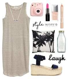 """""""Untitled #1807"""" by katerina-rampota ❤ liked on Polyvore featuring Crate and Barrel, Vince, Smashbox, Christian Dior and Chantecaille"""