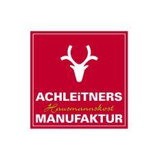 "Das Logo der ""Achleitners Hausmannskost Manufaktur"". Calm, Logo, Artwork, Home Decor, Old Stuff, Concept, Logos, Work Of Art, Decoration Home"