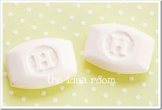 This monogrammed soap is easier to make than you might think.