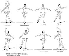 F A D E D Bd on Ballet Dance Steps Diagram