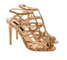 Bronze Juliette sandals by Musette