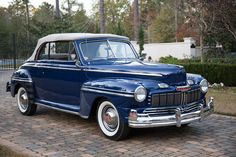 Vintage Cars, Antique Cars, Vintage Auto, Mercury Cars, Mercury Auto, Classic Motors, Classic Cars, Edsel Ford, Ford Motor Company