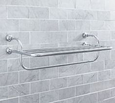Bathroom Storage Shelves U0026 Hooks | Pottery Barn