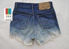 DIY by monalizzka: jeansowe szorty z wysokim stanem