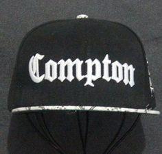 New 2015 Fashion Men Cap Black Compton Letters Embroidery Snapback Hats  Hiphop Hat Baseball Cap Hip Hop Caps For Men Women Bones bae52317009a