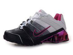 Chaussures Nike Shox NZ Noir  Blanc  Rose  nike 12075  - €50.93   1041059a1