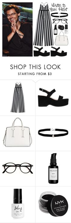 """""""black and white"""" by rainharrybow ❤ liked on Polyvore featuring Marc Jacobs, French Connection, Amanda Rose Collection, Root Science, NYX, OneDirection, harrystyles, black, blackandwhite and Dunkirk"""