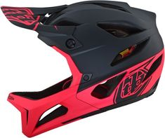 Rot//Silber Troy Lee Designs Enduro-MTB Helm A1 MIPS Classic