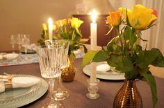 Decoração da mesa de Natal e Ano Novo  -Table Setting Ideas