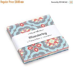 ON SALE Moda Cotton Fabric MANDERLEY by Franny by SeamsSewCharming