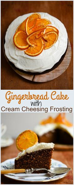 Gingerbread Cake with Cream Cheese Frosting + Have Your Cake & Eat It Giveaway - Patisserie Makes Perfect Cake With Cream Cheese, Cream Cheese Frosting, All You Need Is, Gingerbread Cake, Gingerbread Recipes, Cake Recipes, Dessert Recipes, Fondant, Cupcake Cakes