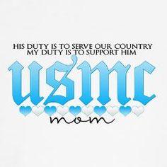 USMC Mom and PROUD