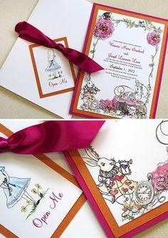 alice in wonderland wedding themes | Wedding Blog | Wedding Ideas | Wedding Directory | A Curious Wedding