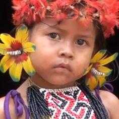 Menina do povo Karajá (Iny). Imagem: #museudoindio