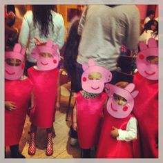 Cumple Peppa Pig, Crafts For Girls, Children, Kids, Craft Projects, Halloween, How To Make, Turning, Celebrations