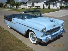 1955 Chevrolet Bel Air Rag Top Convertible - Image 1 of 22