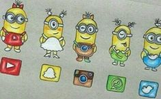 minions redes sociales
