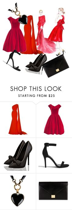 """Untitled #64"" by dressmania3 ❤ liked on Polyvore featuring Alex Perry, Forever 21, Emilio Pucci and Victoria Beckham"