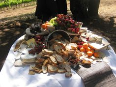 Best cheese table from my weekend in Sonoma. Wedding at Kunde Family Estate. Wedding Dinner, Wedding Weekend, Wedding Bells, Cheese Display, Cheese Table, Appetizers Table, Strawberry Butter, Cocktails For Parties, Work Meals