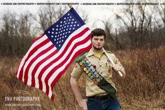 Boy Scout Eagle Scout portrait                                                                                                                                                                                 More