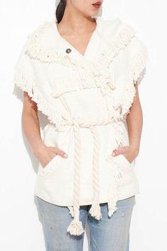 Ecru Elma Jacket by Isabel Marant | shopheist.com