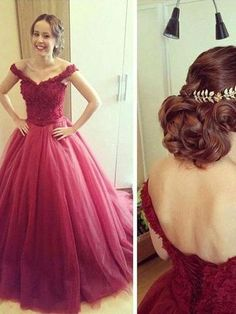 off-the Shoulder prom dresses, A-line Off-the-shoulder Floor-length Tulle Prom Dress Evening Dress Stunning Prom Dresses, Prom Dresses With Sleeves, Black Prom Dresses, Beautiful Prom Dresses, Cheap Prom Dresses, Bridesmaid Dresses, Wedding Dresses, Lace Ball Gowns, Tulle Ball Gown