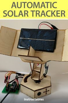 Electronics Storage, Cool Electronics, Electronics Projects, New Energy, Solar Energy, Solar Power, Solar Tracker, Home Tech, Best Solar Panels