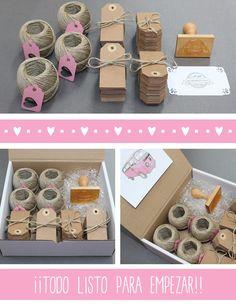 Hermanas Bolena: El kit DIY de María y Alfonso... y algo más. Craft Packaging, Soap Packaging, Jewelry Packaging, Packaging Design, Diy And Crafts, Paper Crafts, Creative Gifts, Diy Gifts, Gift Tags