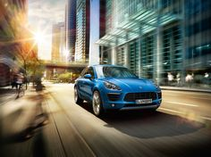 Porsche Macan S - CGI & Retouching on Behance
