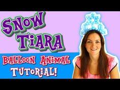 Arctic Vortex Tiara! Balloon Animal How-To Tutorial by Holly! - YouTube