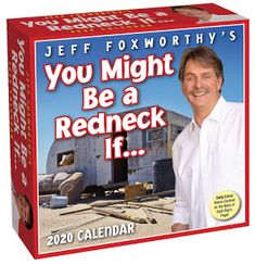 Buy Jeff Foxworthy's You Might Be A Redneck If 2020 Day-to-Day Calendar online and save! If you're looking for the best redneck jokes, look no further than Jeff Foxworthy's You Might Be a Redneck If . 2020 Day-to-Day Calendar. The joke. Got Books, Books To Read, Funny Calendars, Jeff Foxworthy, Redneck Humor, Funny Humor, Online Calendar, Kids Boxing, Free Reading