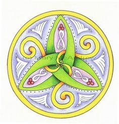 LaBelle Mariposa - Celtic Mandala   Celtic Mandala 1″ « Mary McAndrew